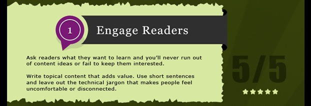 engage readers