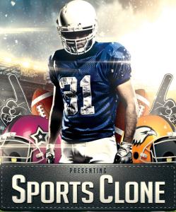 presenting sports clone