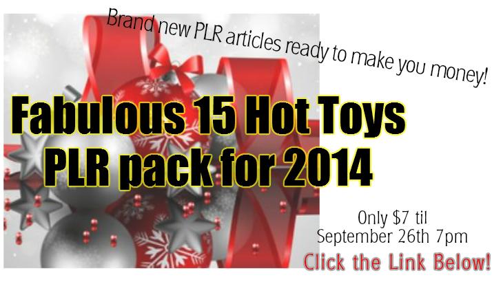 Toys PLR sale